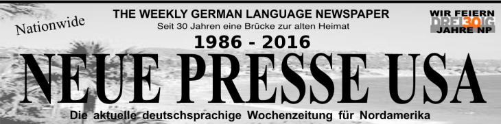 Neue Presse USA 30 Jahre